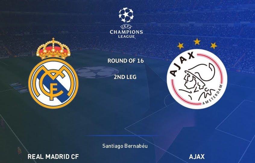 Real Madrid - Ajax op groot scherm bij Arsenal