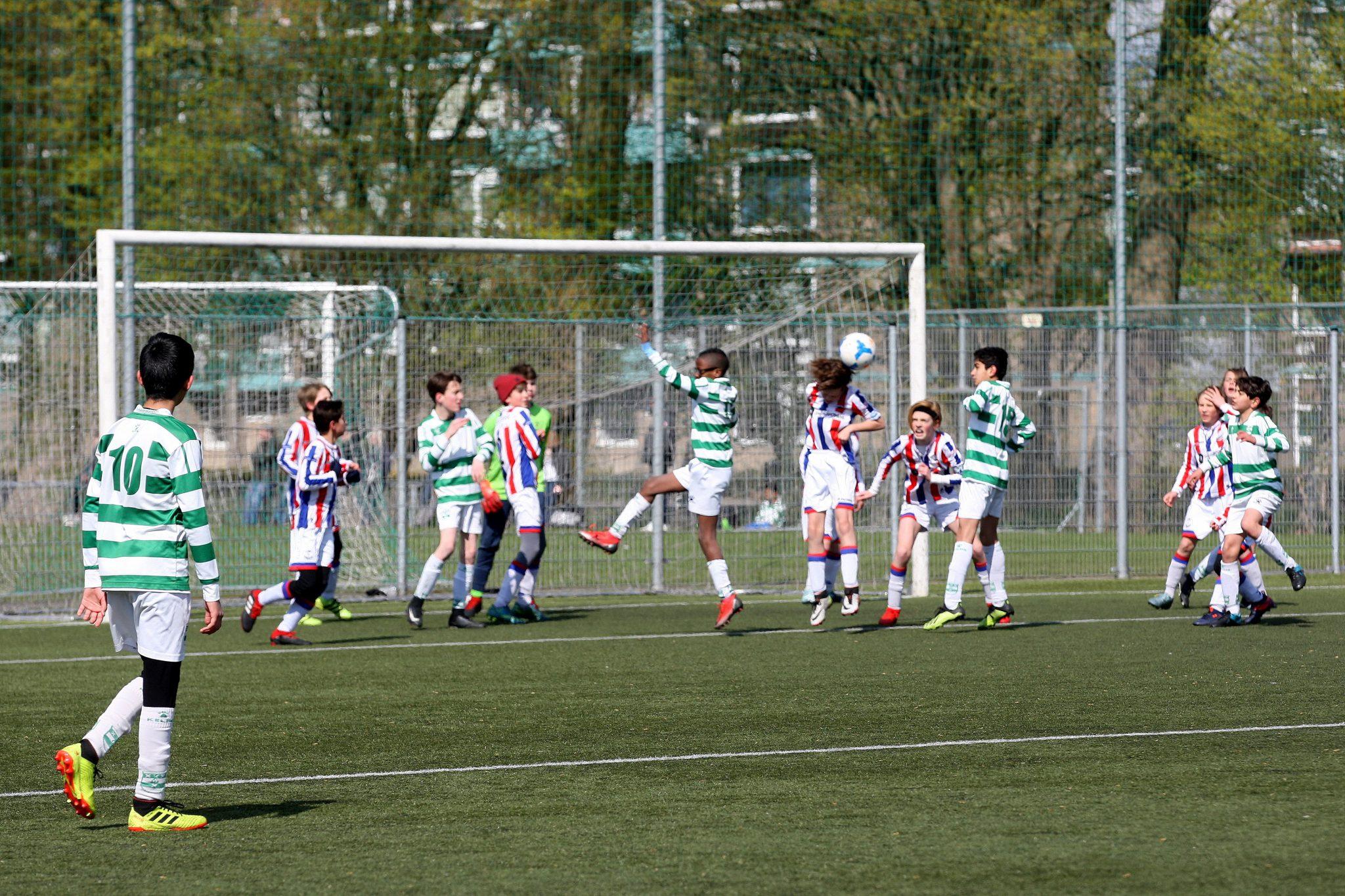 Regiocup wedstrijden voor JO8 t/m JO18 teams